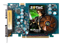 ZOTAC GeForce 8600 GT 540 Mhz PCI-E 512 Mb