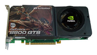 ECS GeForce 8800 GTS 650 Mhz PCI-E 2.0
